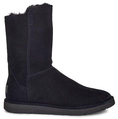 UGG Australia Damen Abree Short Stiefel, Schwarz, 36 - Classic Ugg Schwarz Boots Short