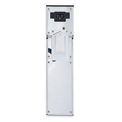 Klarstein Tastemaker Compact • Vakuumgarer • Sous-Vide-Garer • Schongarer • 1100 Watt • Temperatur einstellbar • 0 °C - 99 °C • Garzeit einstellbar bis 99 Stunden • einfache Befestigung • Digitaldisplay • Umwälzpumpe 12 l/min • platzsparend • silber - 6