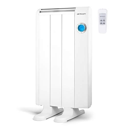 Orbegozo RRE 510 Emisor Térmico Bajo Consumo, 3 Elementos de Calor, Pantalla Digital LCD, Mando a Distancia...