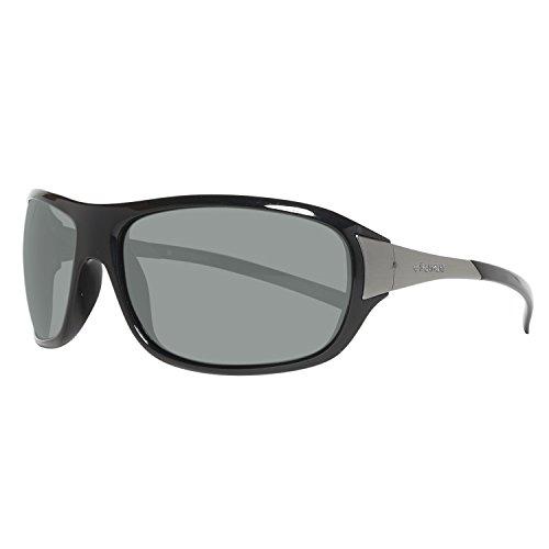 Polaroid PLD/243823_807, Montures de lunettes Homme, Noir (Nero/Grigio), 57