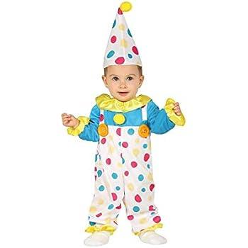 U Guirca-85972 Costume da Pagliaccio Neonato 12//24 Mesi Multicolore 85972.0