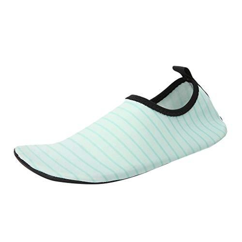 Rosennie Damen Wassersportschuhe Badeschuhe für Frauen Schnell Trocken Aqua Socken Schwimmen Bootsportschuhe Strandschuhe Yoga Schuhe für Wassersport Barfuß Schuhe Schwimmen Tauchen
