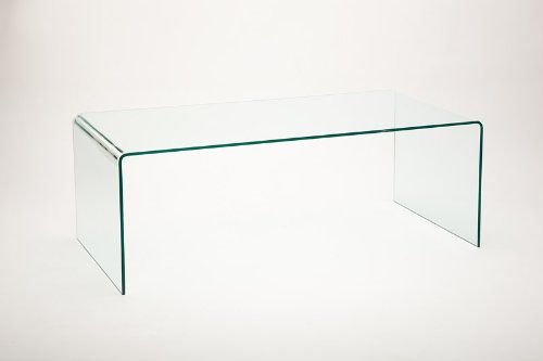 Vetrostyle Design Couchtisch gebogenes Glas Maxi -