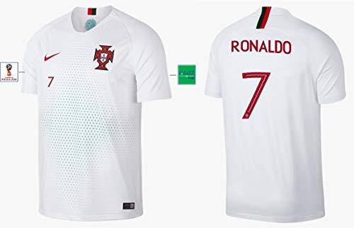 Portugal Trikot Herren WM 2018 Away - Ronaldo 7 (L)