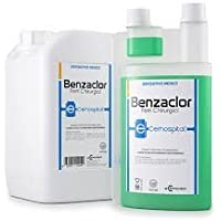 benzaclor desinfectante a base de benzalconio Cloruro 1000 ml