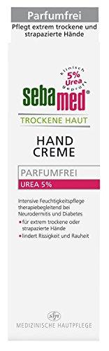 Sebamed Trockene Haut Handcreme Urea 5 {6e4727e2c3aa78f15c6ea4c787330f192229f69c01039d53d729d3cd79977c7e} parfumfrei, 75 ml