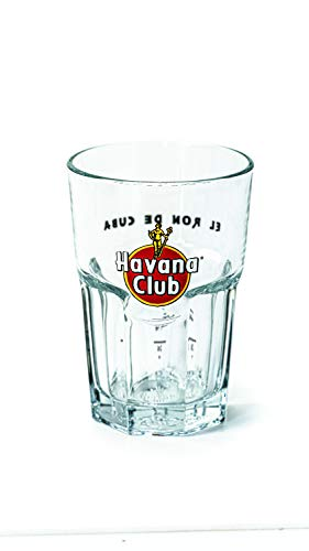 Havana Club 1 x Rum Exclusive Tumbler Glas Longdrink Bar Cocktail Party Bar Longdrink