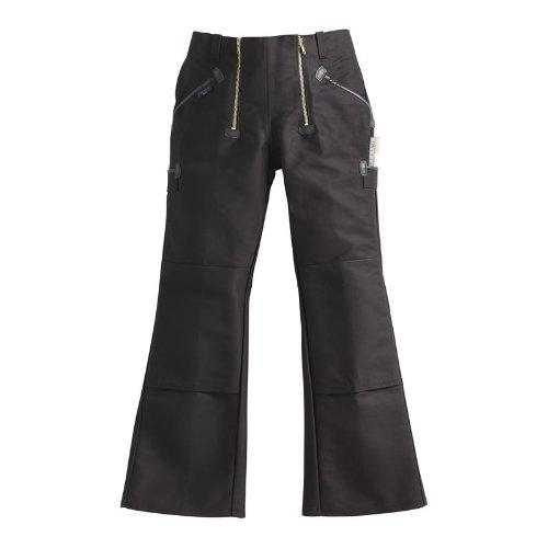 Preisvergleich Produktbild PIONIER WORKWEAR Herren Zwirndoppelpilot-Zunfthose mit Schlag in schwarz (Art.-Nr. 304) schwarz,Größe 50