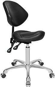 مقعد انسيابي قابل للتعديل مع عجلات من كاليورير، كرسي خفيف الوزن قابل للتعديل للعيادة السبا الجمال صالون التدلي