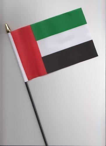 Vereinigte Arabische Emirate VAE Flagge 25cm