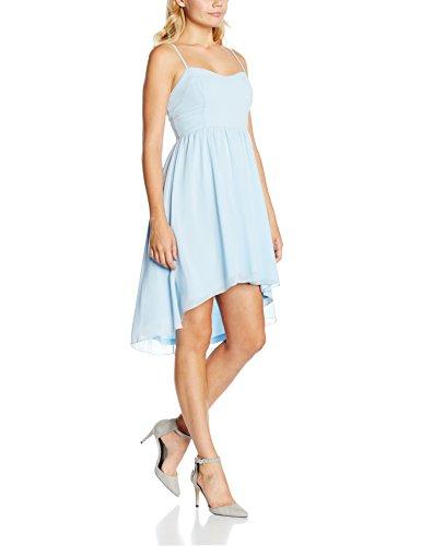 Intimuse Damen Kleid mit Spaghettiträgern, Blau (Eisblau 051), 42