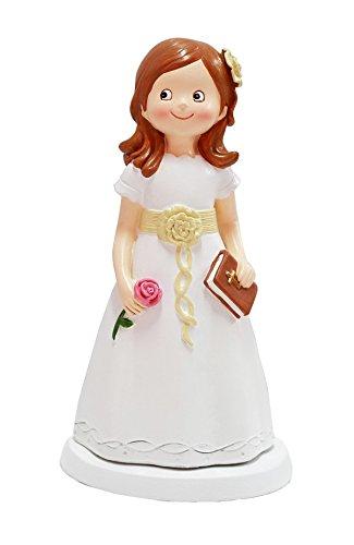 Disok Figur Kuchen Kommunion Mädchen Bücher, mehrfarbig (8529)