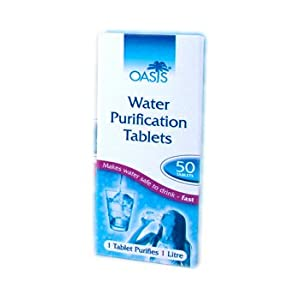 31QV6ffl lL. SS300  - Oasis Water Purification Tablets