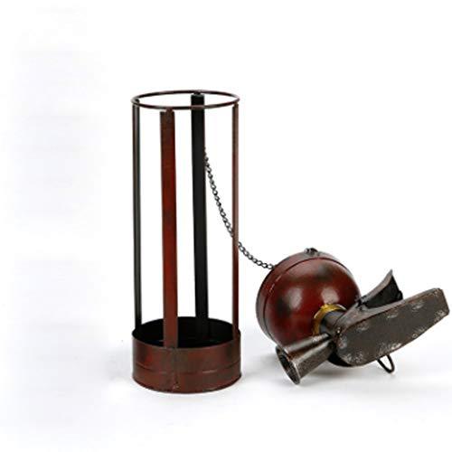Cremagliera del Vino in Metallo retrò Design Creativo estintore Ristorante armadietto del Vino Decorazione Decorazione casa Artigianato Gioielli Desktop Regalo Regalo