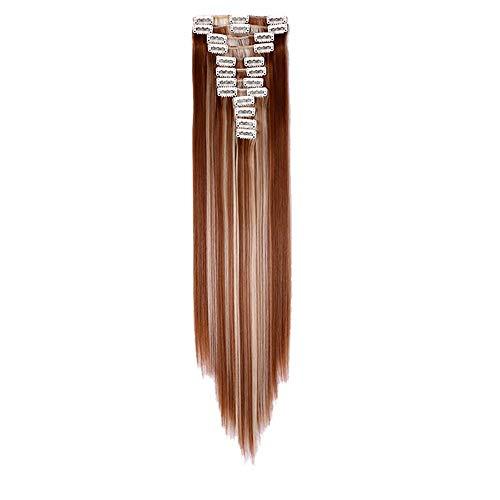 Transwen Damen Perücke, Frauen Mode gerades kurzes Haar mittlere Teil Perücke für Cosplay Karneval oder Party Fasching Kostüm Glamourös Haarteil (Glamourös Kostüm)