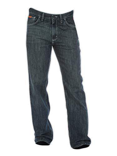 Wrangler FR Herren Doppel-Hazard Vintage Boot-Cut Jeans, 28x30, Denim, 40x32, denim, 1