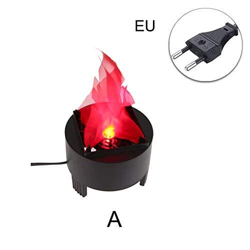 Symboat LED falso llama lámpara efecto Fuego decoración