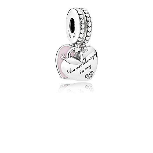 Pandora charm pendente mamma e figlia