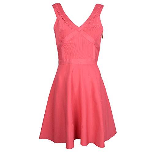 Guess Kleid Mirage - W53K88Z0HR0 / Mirage Scallop Fit N Flare - Size: 40(EU) - IT44 (Fit-n-flare Dress)
