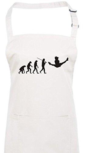 e Evolution Gymnastik Tanz Akrobatik Bodenturnen Ballet, Farbe weiss (Nussknacker Ballett Kostüm)