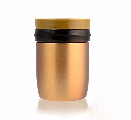 MDRW-Verstopfte Becher, Edelstahl, schwelende Wasserkocher, Suppe Cup, Studierende, die ein Lunchpaket, Schwelbrand Dosen Mittagessen Kühler,B380