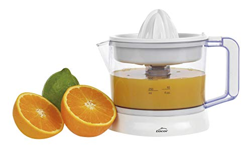 Lacor 69575 - Exprimidor de zumos ZITRUS con sistema de pulpa regulable, Libre de BPA, Apto...