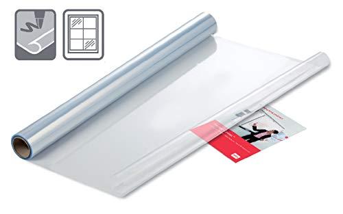 Nobo Tafel-Folien, Statisch Haftend, Trocken abwischbar und Abnehmbar, 800 x 600 mm, 25 Stück, Transparent, 1905158