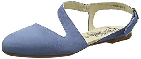 Fly London Damen Mega905Fly Ballerinas, Blau (Smurf Blue 003), 37 EU