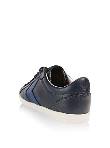Hummel - Deuce Court Sport Lo, Scarpe sportive Unisex – Adulto Blu scuro