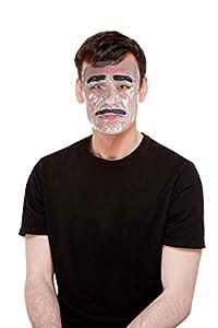 Smiffys 52402 - Máscara transparente para hombre, transparente, talla única