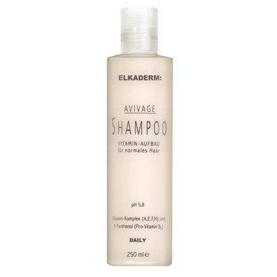Elkaderm Avivage Vitamin Aufbau Shampoo 250 ml Für Glanz, Pflege & gesundes Aussehen