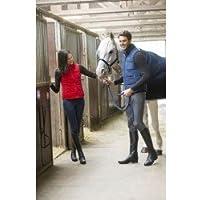 Equi-Theme Equine Les Essentials - Chaleco de Cintura para Mujer (Cuello Alto, Cremallera de 2 vías)