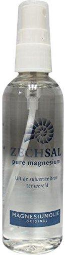 Zechsal Magnesiumöl Sprühflasche (100ml) [Das Original - aus dem Zechsteinmeer] Tausendkraut -