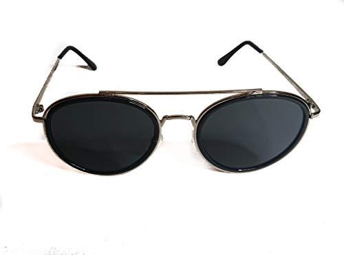 Righetti Sonnenbrille Damen schwarz gold Metall Rahmen