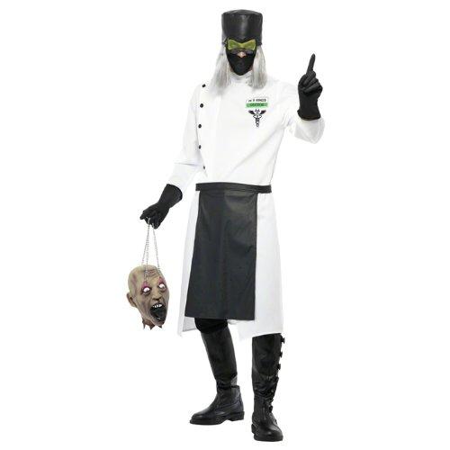 Psycho Doktor Kostüm - PARTY DISCOUNT NEU Herren-Kostüm Psycho Doktor