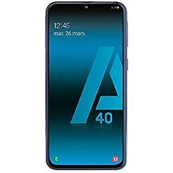 SAMSUNG GALAXY A40 - Smartphone portable débloqué 4G (Ecran: 5, 9 pouces - 64 Go - Double Nano-SIM - Android) - Bleu - Version Française