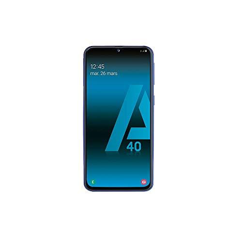 SAMSUNG GALAXY A40 - Smartphone portable débloqué 4G (Ecran: 5, 9 pouces - 64 Go - Double Nano-SIM...