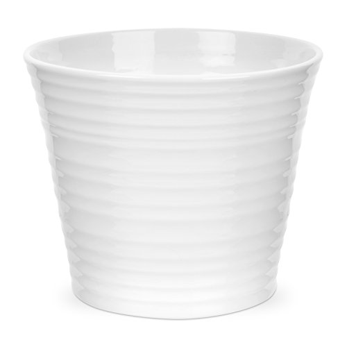 Portmeirion Sophie Conran White Flower Pot by Portmeirion Conran White