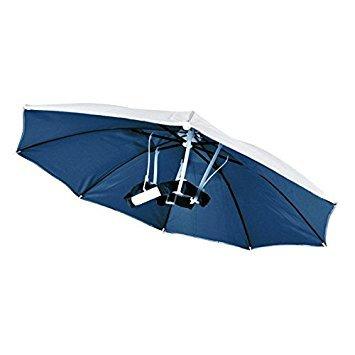TOOGOO Gorra de Paraguas Sombrero de Paraguas de Sol para Caza de Pesca de Golf Sombrero Plegable de Deporte Al Aire Libre