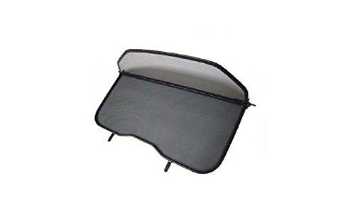 Déflecteur de vent pliable avec fermeture rapide - noir pour Volvo C70 II 2006-2013 | Filet Anti-Remous Coupe | Déflecteur d'air