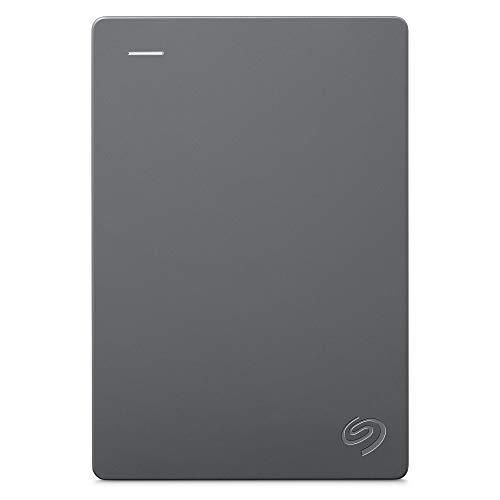 SeagateBasic 5To, disque dur externe portable - USB3.0 pour PC portable (STJL5000400)