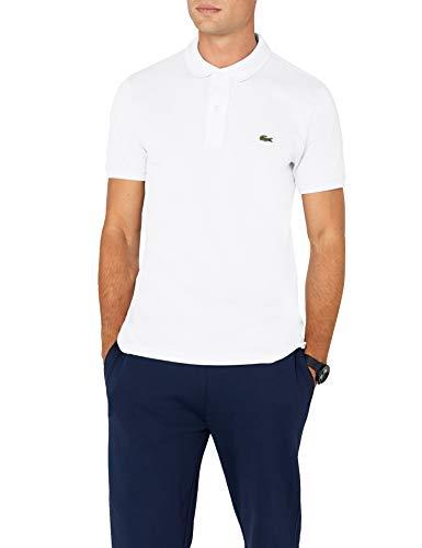 25fb44cdff79 Lacoste Herren Polo T-shirt Ph4012, Weiß (Blanc), X-Large (Herstellergröße   6)