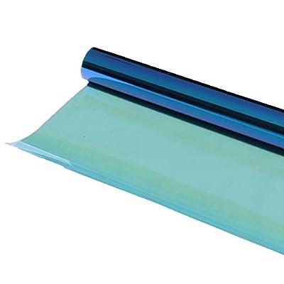 HOHOFILM caméléon Bleu Automotive teinté pour Film pour vitres de Voitures Bloc de réduction de la Chaleur du Soleil Anti UV 152cmx30cm
