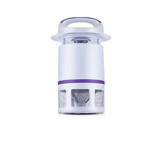 Nola Sang Stillen LED-Moskito-Stop-Bug-Zapper Outdoor-Schädling-fallen-Käfer keine Strahlung saugen Typ , purple