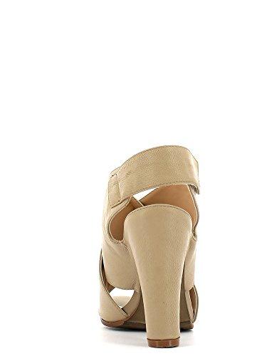 Cafenoir XS114 Sandalo tacco Donna Beige