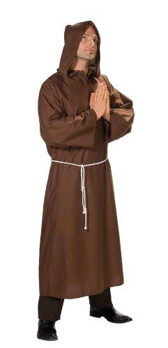 KRU10444-52 Herren Kostüm Mönch Kutte Robe Größe (2 Für Ding Erwachsene 1 Ding Kostüme Und)