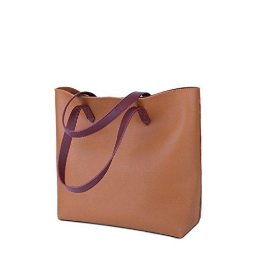 cc767de769e9c ... NBAG Frauen Große Kapazität Tasche Umhängetasche Retro Casual Big Bag  Umhängetasche Mode Einfachen Quadratischen Beutel Elegante