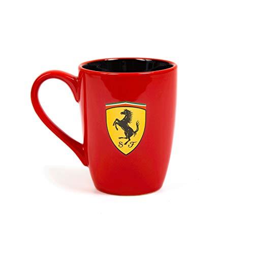 Ferrari Scuderia - Taza de Scudetto rojo con contraste interior negro, 2018, F1, producto oficial preisvergleich