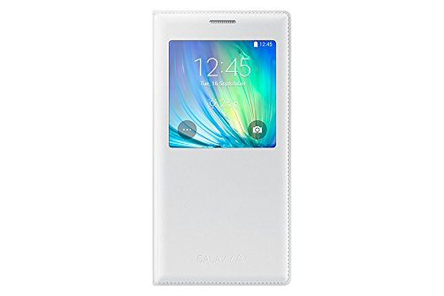 Samsung custodia s view per galaxy a7, bianco