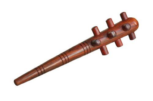 Massaggiatore igel, lunga, liscia, in legno duro per punto di innesco di massaggio massaggio aiuto legno deuser stab